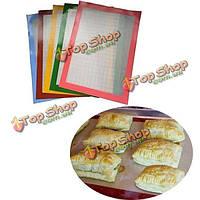 Качества еды силикона выпечки коврик коврик из стекловолокна антипригарным мат выпечки торт печенье хлеб