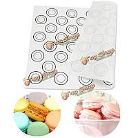 Силиконовый коврик для выпечки французского печенья Macarons