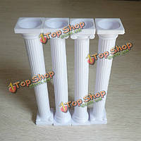 4 римский столб cupcake стенд десерт Cake стенд печенье лоток