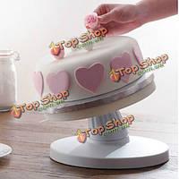 Регулируемый откидной поворотный револьверный украшения торта торт стенд
