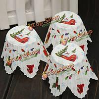 50шт Рождественский кекс кексы торты лепесток бумаги выпечки чашки
