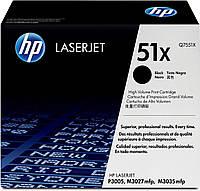 Картридж HP LJ P3005, (Q7551X)