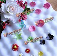 2шт помады Cake помады инструменты цветок формировании губки площадку Cake формы для выпечки на кухне Cake украшения