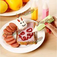 Ручки помадной торт украшать торта украшая снабжения инструменты