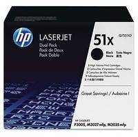 Картридж HP LJ P3005, (Q7551XD, 2ХQ7551X)