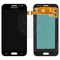 Дисплейный модуль (дисплей + сенсор) для Samsung J2 J200F / J200H / J200G / J200Y, черный, оригинал