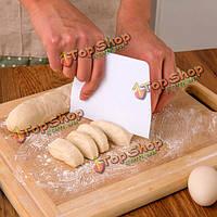 Долговечные масло тесто торт скребок трапециевидная выпечки инструменты