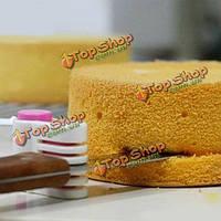DIY Cake хлеб резак выравниватель 5 слоев среза режущих инструментов фиксатор