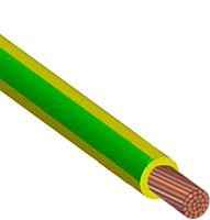 Провод ПВ 3х0,75 желто-зеленый (ВОСТОК)