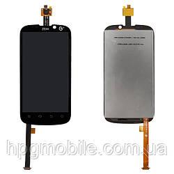 Дисплей для ZTE Grand X, ZTE Grand X IN, модуль в сборе (экран и сенсор), черный, оригинал