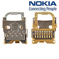 Коннектор карты памяти для Nokia 6600s/7020/7230, оригинал