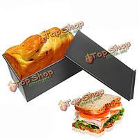 Прямоугольник с антипригарным покрытием тост коробку кухня выпечка хлеба противень формы для выпечки