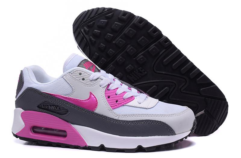 Кроссовки женские Nike Air Max 90 / 90AMW-502 (Реплика)