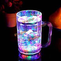 Индуктивный LED пиво виски стеклянная чашка бар клуба чашки напитка ночной свет чашки