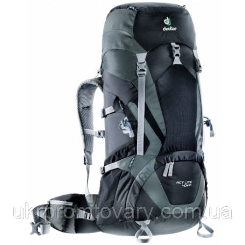 Рюкзак Deuter ACT Lite 40+10L 3340115-7410 Black Granite