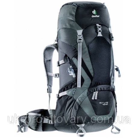 Рюкзак Deuter ACT Lite 40+10L 3340115-7410 Black Granite, фото 2