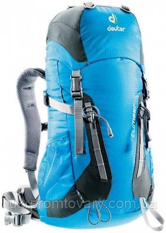 Рюкзак Deuter Climber 22L 36073-3427 Turquoise Granite, фото 2