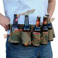 6 пакет держатель пиво соды ремень пьет пиво ремень для наружного кемпинг партии