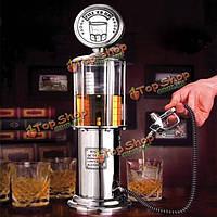 Творческое вино пиво диспенсер выливная газ stastion коктейль напитков разливочные машины мера