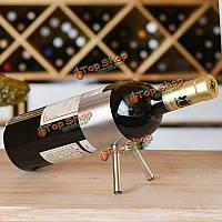 Из нержавеющей стали простой шкаф вина держатель шампанского две ноги европейский стиль вина шампанского стойки