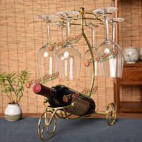 Творческая колесница вина шампанского держатель стойки кубком держатель украшение дома