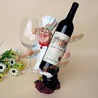 Главный смолы вино Champange бутылки Бокал держатель стойки украшение дома