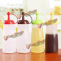 Переработанных пластиковых бутылок помидор соус бутылки для хранения банок