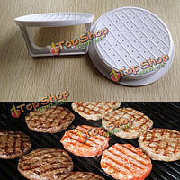 Кухня пластик гамбургер мяса говядины гриль бургер пресс создатель прессформы инструмент приготовления пищи