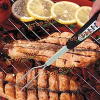 Смарт-гриль термометр говядины мяса индейки двойной зонд температуры мгновенного чтения термометр барбекю вилка