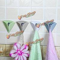 Не 4pcskitchen присоска сильный всасывания крюк ванной плитка свободный гвоздь полотенце липкий крюк никаких следов супер нагрузки