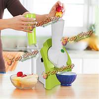 Поделки мини-электрический домашний автоматический домашний фруктовый машина мороженого производитель
