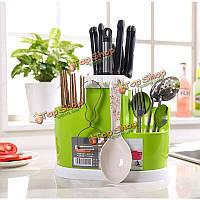 С системой слива организатор ложка шпатель палочки для еды щетка держатель кухни осушение инструменты стеллаж для хранения