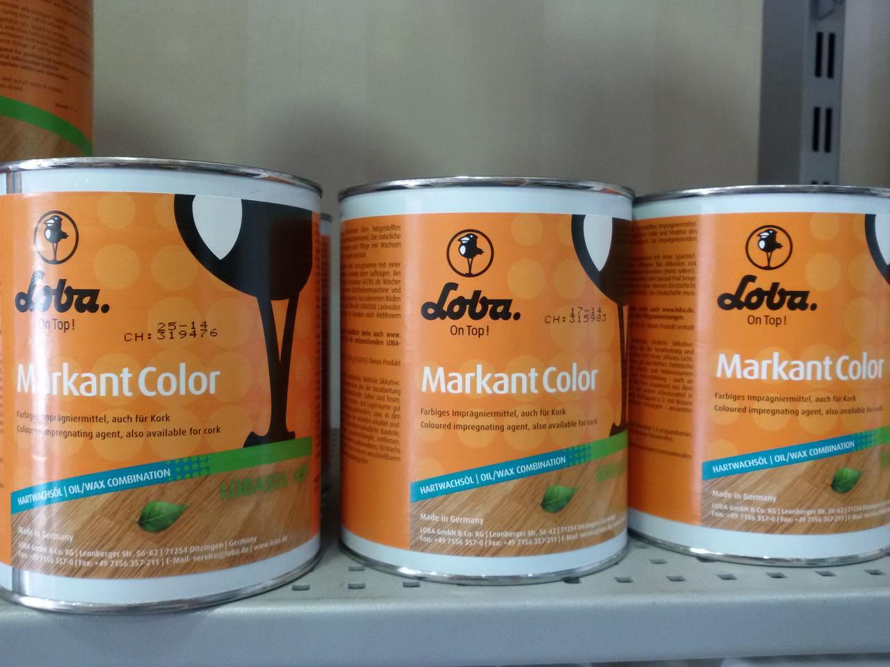 LOBA Масло-воск   Маркант 2.5л белинга