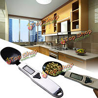 500г/0.1g цифровой ЖК-ложка для измерения электронные весы вес пищи шкалы измерения