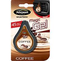Ароматизатор в авто Aroma Car Magic Gel 10g Кофе