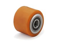 80х100 ролики подвилочные для гидравлических тележек из полиуретана