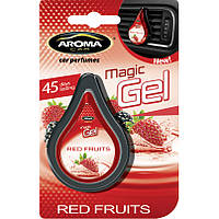 Ароматизатор в авто Aroma Car Magic Gel 10g Красные Ягоды