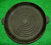 Сковородка  гриль чугунная 240х30мм