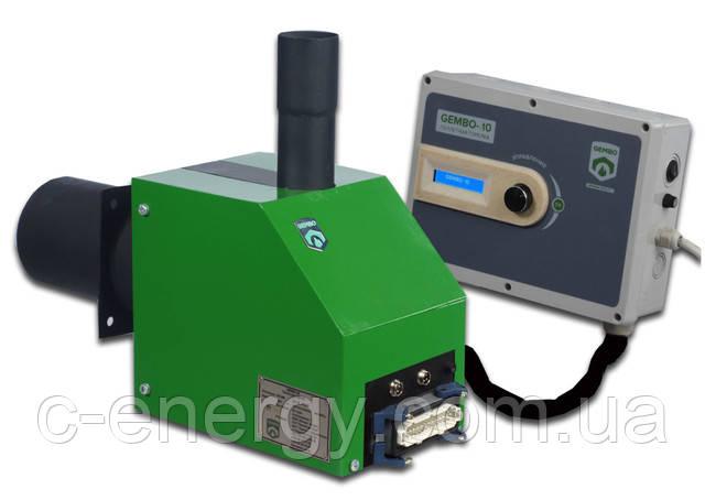 Автоматическая пеллетная горелка мощностью 25 кВт.