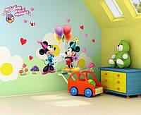 """Интерьерная виниловая наклейка на стену в детскую """"Микки Маус"""""""