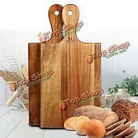 Фрукты овощи акации дерево разделочная доска разделочные блок антибактериальное деревянная разделочная доска