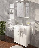 Мебель для ванной комнаты от Буль-Буль модель Ibiza 60 (шкафчик с умывальником, зеркальный шкаф, пенал)