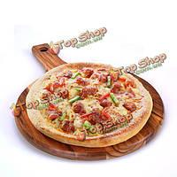 Хлеб и фрукты растительное разделочная доска из натурального дерева антибактериальная разделочная доска для пиццы