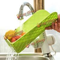 Многофункциональный складной слива разделочную доску для слива раковины пластиковые фрукты овощной рубящий блок