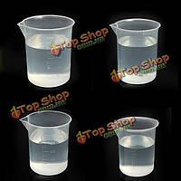 Лабораторные испытания кухне пластиковый стакан мерный стаканчик 50 100 150 250 мл