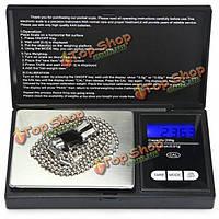 200gx0.01 ЖК профессиональное устройство весом Mini мощность цифровая шкала алмаз приправа