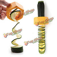 Спираль огурец ломтерезка овощей фруктов салат резца