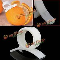 2 x оранжевый открывалка овощечистка пластмассы резца плодоовощ лимона Remover кожи