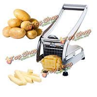 Нержавеющая сталь картошки-фри картофеля резак резак кухня гаджеты