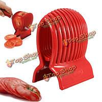 Помидор лук ломтерезка овощей фруктов держатель резца инструмента кухни